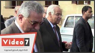 """4وزيرا الإسكان والتنمية المحلية ومحافظ القاهرة يتفقدون عمارات مدينة """"بدر"""""""
