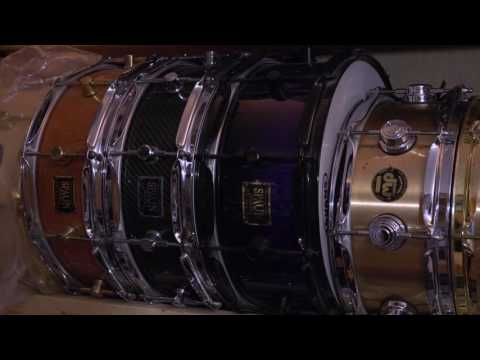 Dave Batemans Shed/Drum Studio Tour 2016