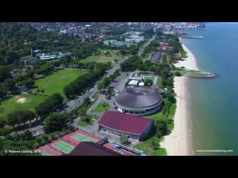 Aerial of Balikpapan (4K) - Banua Patra