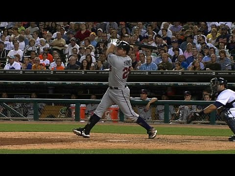 Jim Thome belts home runs number 599 and 600 against the Tigers
