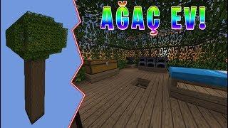 Minecraft'ta Ağaç Ev!
