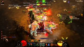 Diablo 3  - Find Key Of Destruction + Farm Exp 25M/12Min Act1 (solo)
