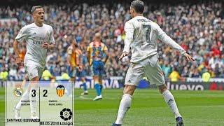 Real Madrid 3-2 Valencia (La Liga 2015/16, matchday 37)
