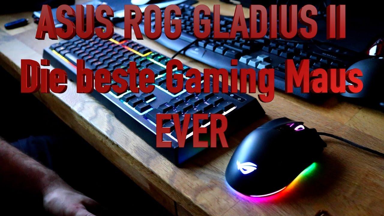Asus ROG Gladius 2 - Pro Gaming Maus Testsieger - Aura Sync - TheAskarum