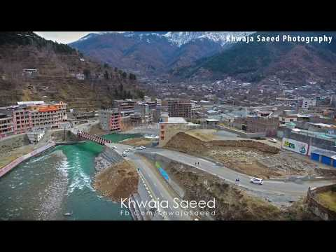 Aerial Video Of Madyan Swat Valley