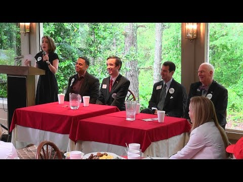 Georgia GOP Chairman Candidates Forum with Angelyn Dionysatos at Fulton County GOP 05/13/17