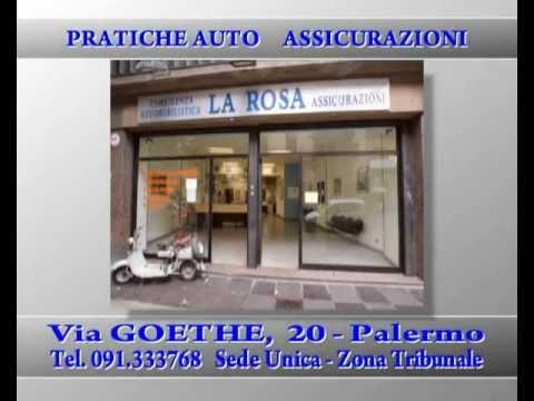 Agenzia LA ROSA Pratiche Auto e Assicurazioni - Palermo Sede Unica Via Goehte 20 - Tel.091333768