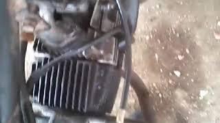 Motorcycle head gasket blown sound