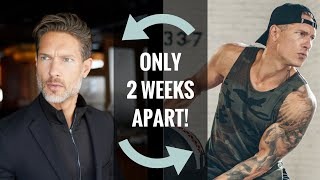 From SILVER FOX to TATTED BAD BOY in 2 WEEKS! — Model Transformation