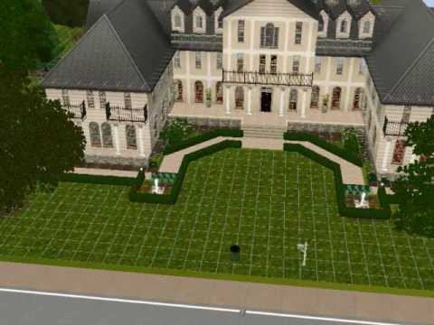 French Quarter Chateau - Sims 3 Lots
