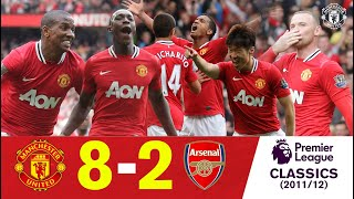 United 8 2 Arsenal On This Day 28 August 2011 Extended Highlights Manchester United Classics MP3
