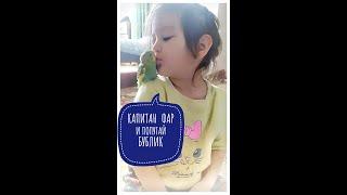 Детские игры. Самый весёлый ручной попугай Бублик