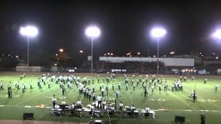 El Dorado HS Marching Band @ 2014 LAHS Field Tournament