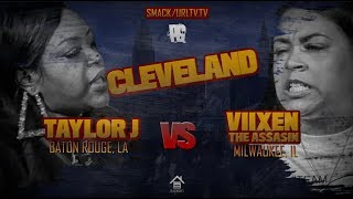 TAYLOR J VS VIIXEN THE ASSASIN | URLTV