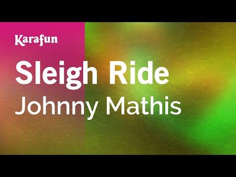 Karaoke Sleigh Ride - Johnny Mathis *