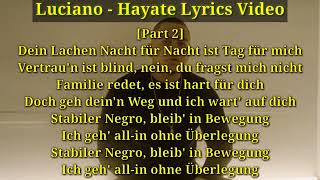 Luciano - Hayate LYRICS (Lyrics Video+Download)