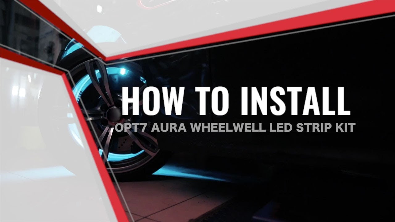 AURA LED Wheel Well Lighting Kit Installation Guide Opt Led Switch Wiring Diagram on