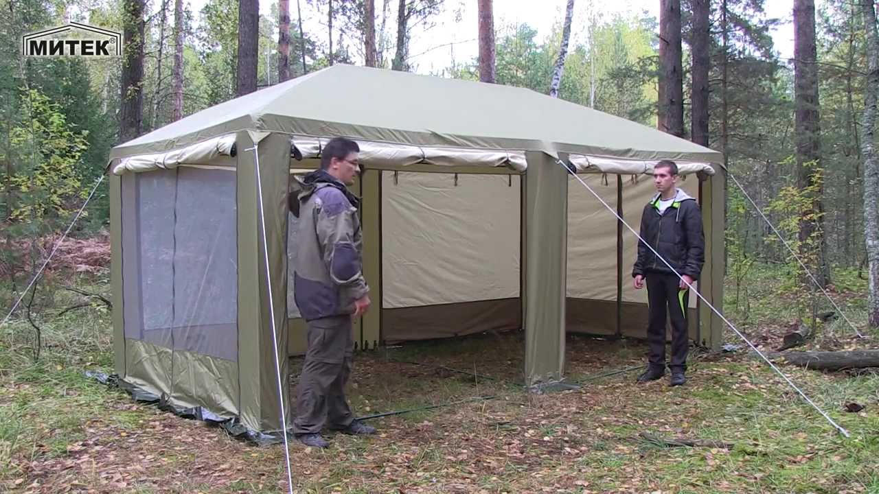 Быстровозводимый шатер своими руками