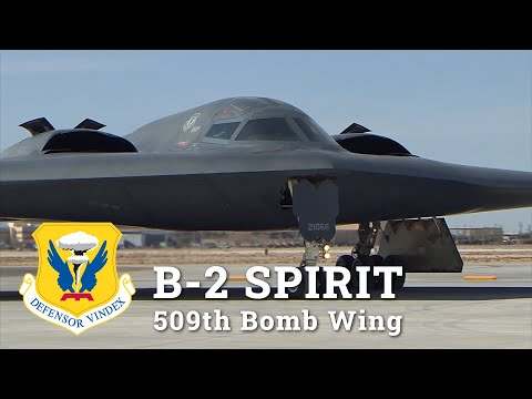 B-2 Spirit Stealth Bomber: Prep, Taxi, and Takeoff [HD]