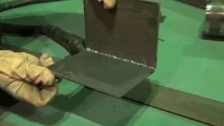 Урок 18. Пример выполнения корня шва. Видео уроки по аргоновой сварке.