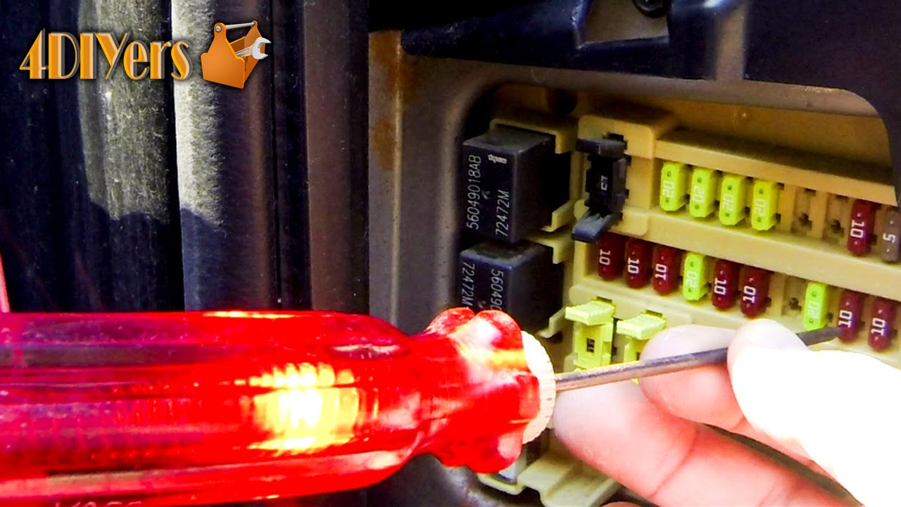 maxresdefault diy how to test fuses youtube how to check fuse box in car at couponss.co