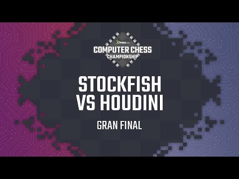 Gran Final del Computer Chess Championship 2018 | Stockfish vs Houdini