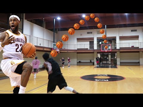 Download Youtube: THE LEBRON JAMES FULL COURT SHOT CHALLENGE! 7 PLAYER BASKETBALL CHALLENGE!
