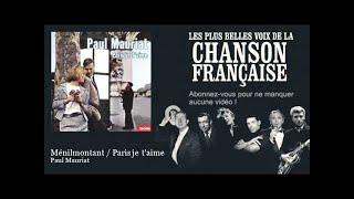 Paul Mauriat - Ménilmontant / Paris je t