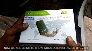 ZASCO GPS GT06 / GT06N ZT06 GPS TRACKER RELAY IGNITION CUT OFF FEATURE DEVICE INSTALLATION IN SWIFT
