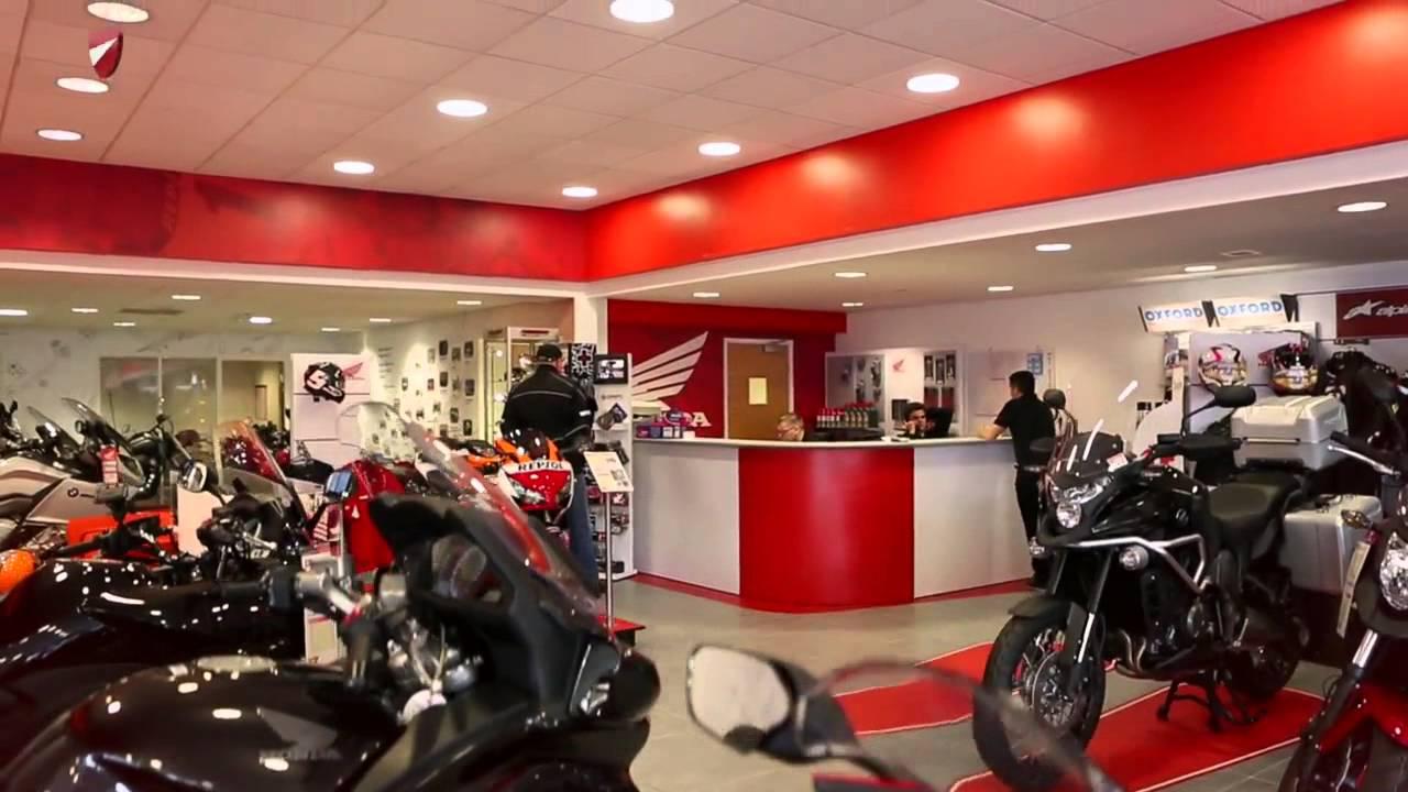 Nottingham Honda Bikes - your local Honda bike dealership - YouTube