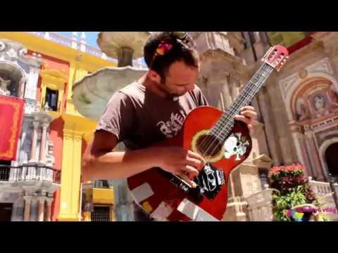 Street music in Malaga