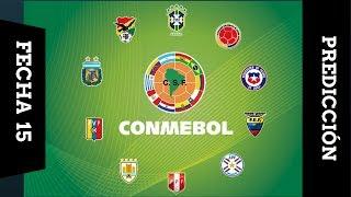 Prediccion de las Eliminatorias Sudamericana Rusia 2018 Parte #1