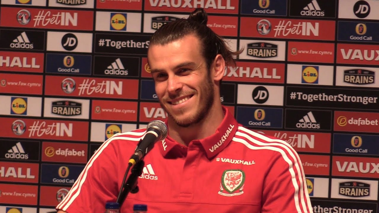 Euro 2016 - Portugal vs Wales - Gareth Bale Press Conference Before  Portugal Semi-Final