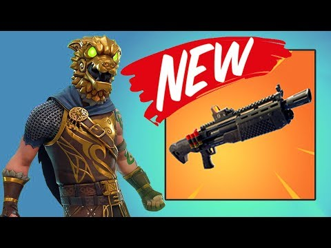 NEW GUN!! (HEAVY SHOTGUN) | Fortnite Battle Royale l First Legendary Shotgun?