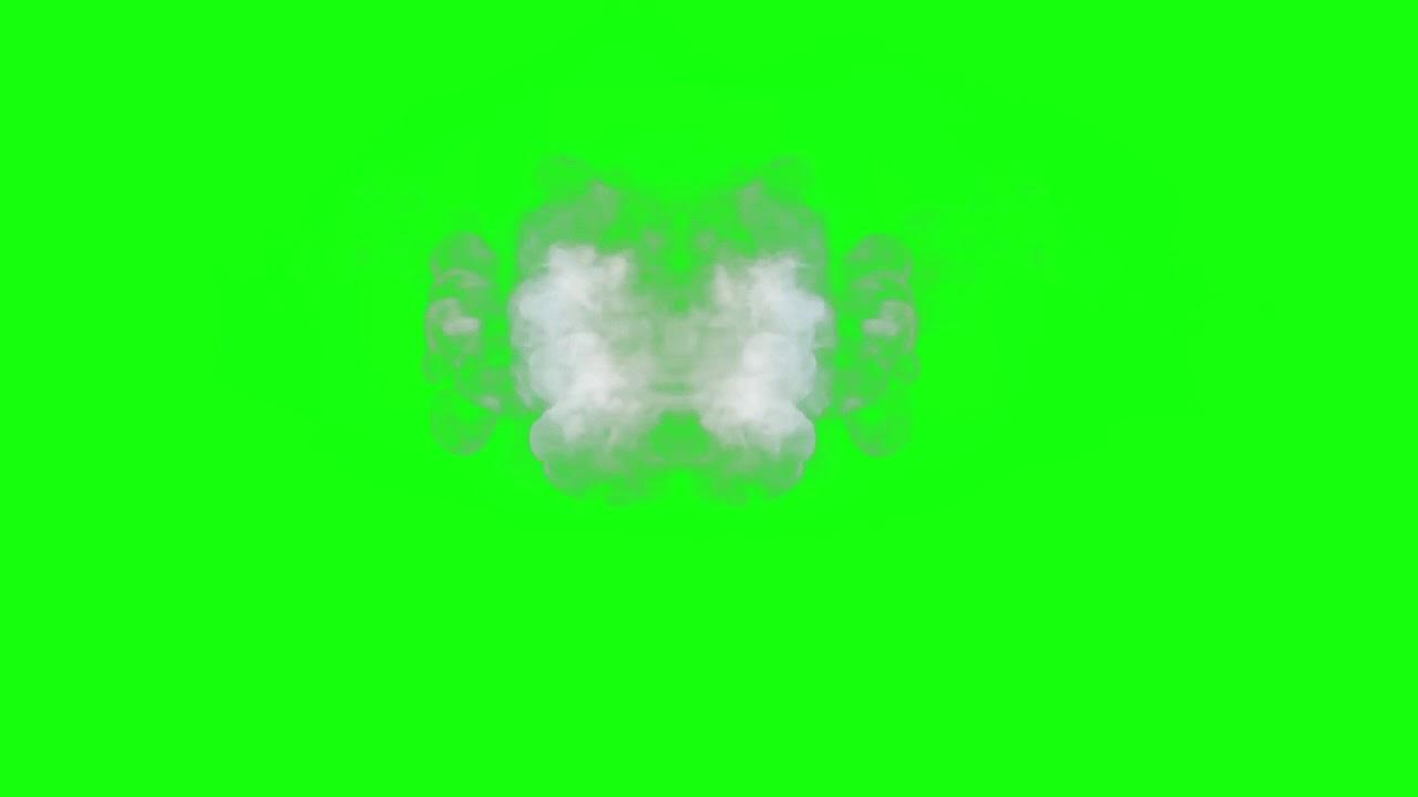 خلفيه خضراء دخان لتعديل علي الفيديوهات واستخدامها كمقدمه Youtube