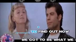 Frankie Valli - Grease (karaoke - fair use)