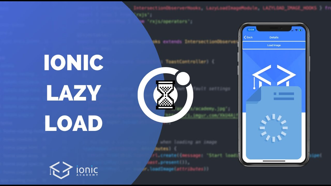 How to Lazy Load Images with Ionic