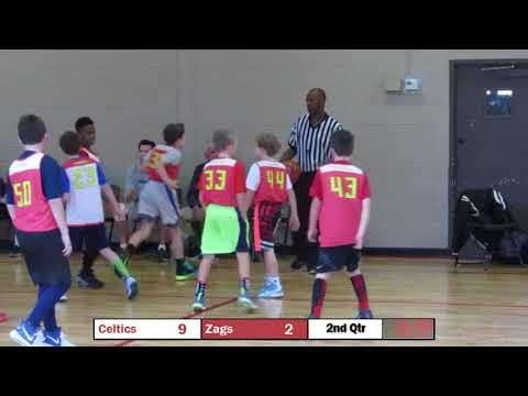 CAY Basketball - December 2, 2017 - Celtics vs Zags