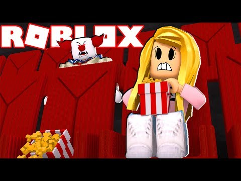WATCHING THE SCARIEST MOVIE AT THE CINEMA! (Roblox)