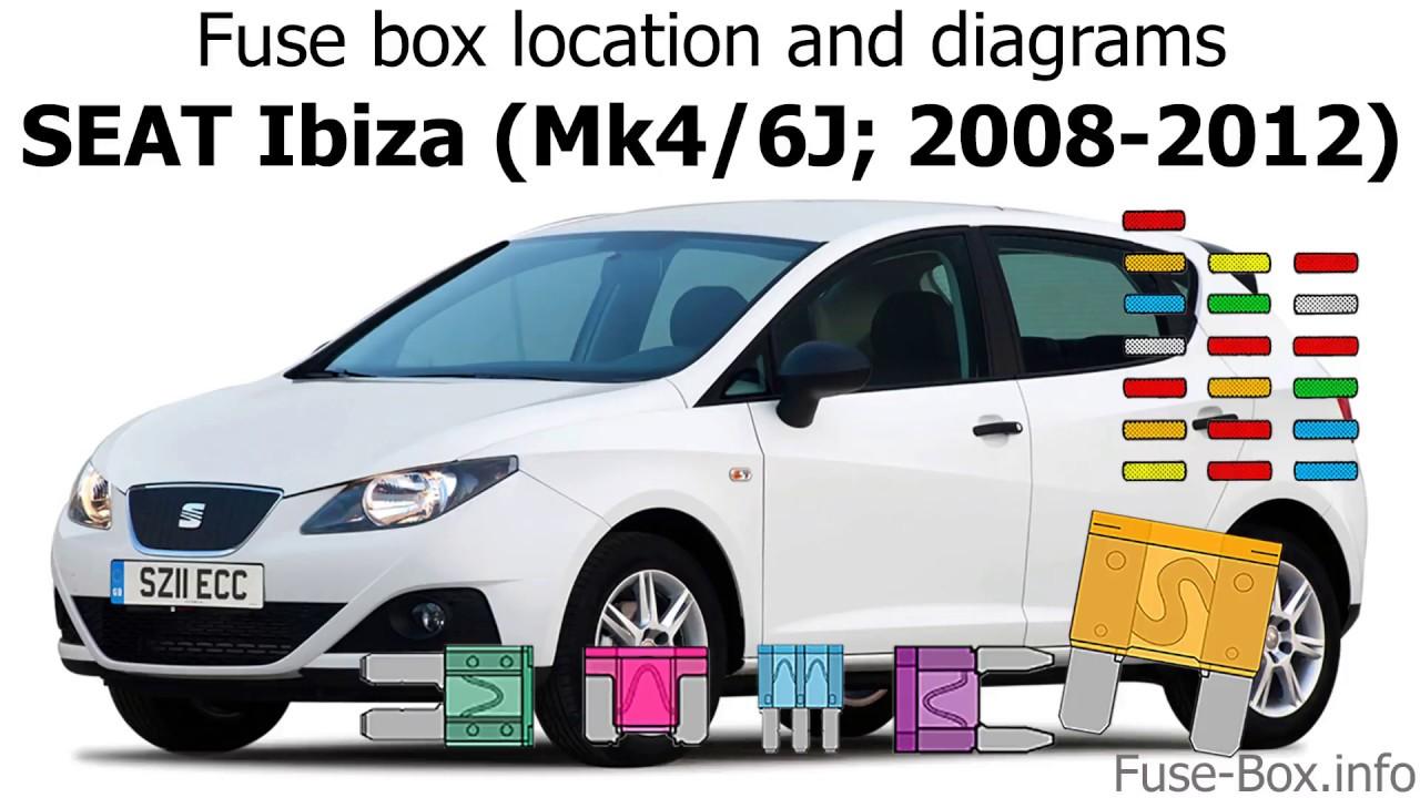 Seat Ibiza Fuse Box Diagram