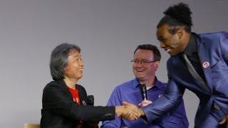 WWE's Xavier Woods Marks Out Meeting Nintendo's Shigeru Miyamoto