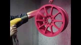 видео Распылитель порошковой краски, купить распылители окраски в Москве