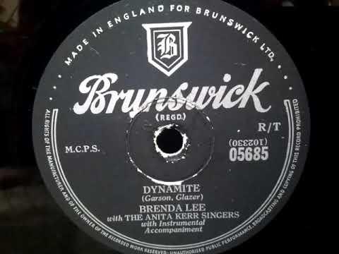 Brenda Lee ( ブレンダ・リー ) ♪Dynamite♪ ( ダイナマイト ) 1957年 ...