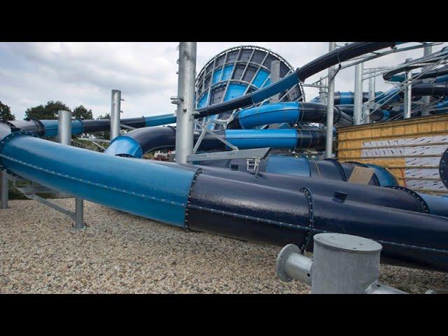 Langste waterglijbaan ter wereld!