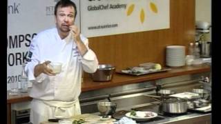 World Gourmet Summit 2010 David Thompson Masterclass, Scallop Salad with Grated Coconut