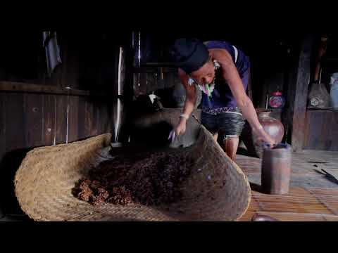 Making rice wine in Myanmar