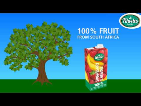 Rhodes 100% fruit juice