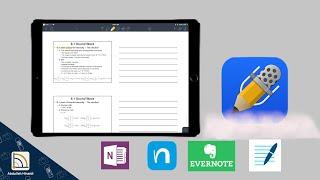 الايباد للطلاب | تطبيق Notability لكتابة الملاحظات screenshot 5
