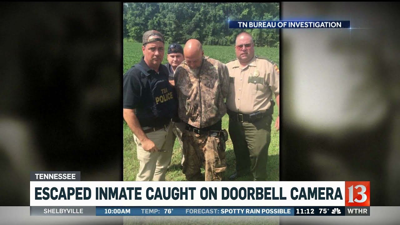Escaped Tennessee Inmate Caught