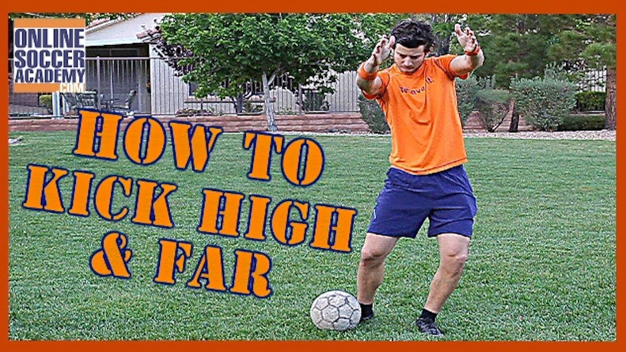 How to Kick a Soccer Ball Hard How to Kick a Soccer Ball Hard new pics
